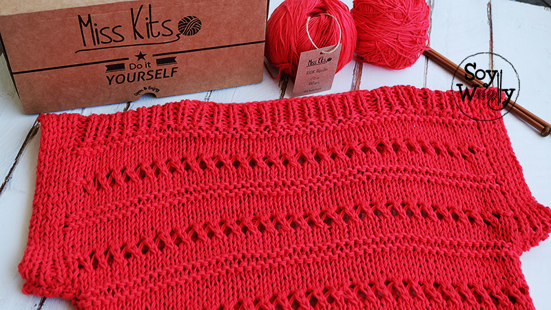 Teje un jersey su ter f cil r pido en dos agujas soy woolly - Puntos faciles para tejer con dos agujas ...