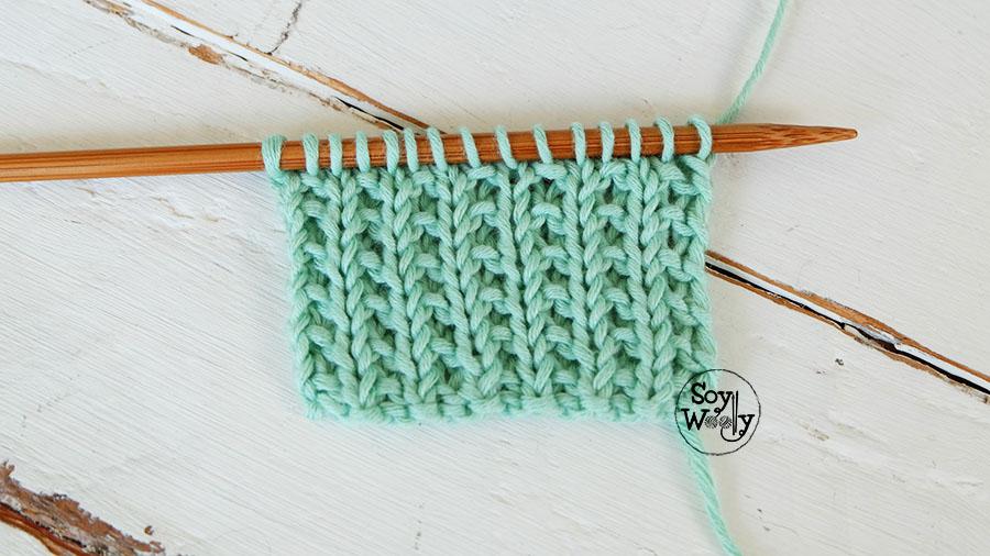 Puntos de palitos de tejer mejor conjunto de frases - Puntos faciles para tejer con dos agujas ...