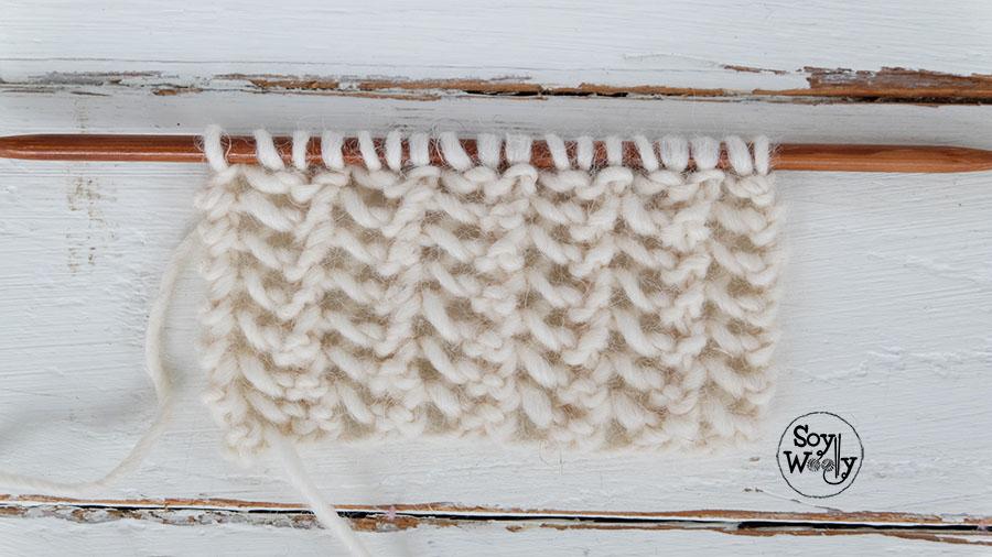 Puntos calados faciles en dos agujas imagui - Puntos faciles para tejer con dos agujas ...