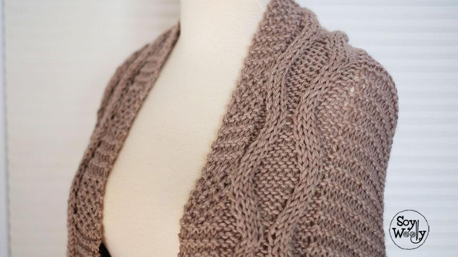 Como tejer un sueter a dos agujas gray cardigan sweater - Tejidos en dos agujas paso a paso ...