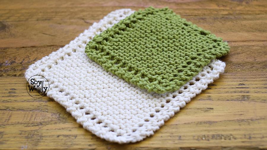 La forma m s f cil de tejer una manta en diagonal soy - Tejer mantas de lana ...