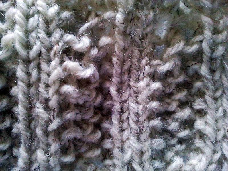 Punto de Espiga Soy Woolly