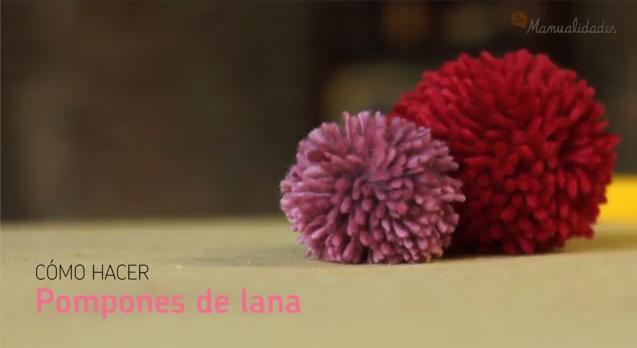 Pompones de lana DIY-Soy Woolly