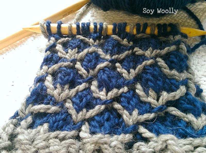 Punto de Rejilla Bicolor - Soy Woolly
