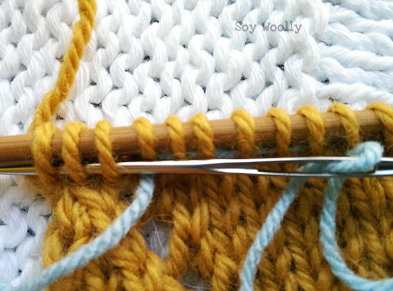 Como corregir errores al tejer-Soy Woolly