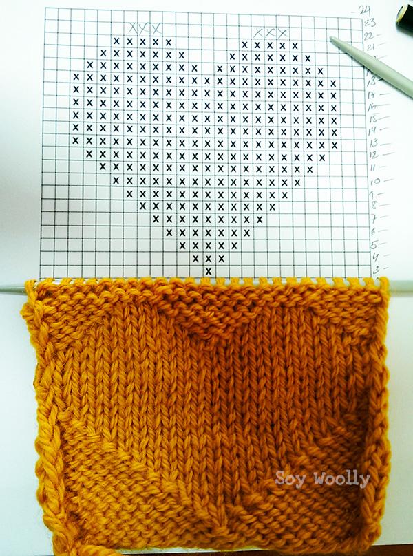 Como tejer leyendo un diagrama o dibujo-Soy Woolly