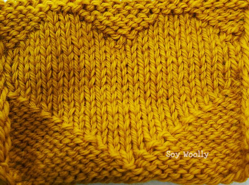 Punto de Corazón reversible -Soy Woolly