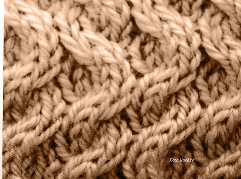 Cómo tejer nuevos tipos de ochos o trenzas-Soy Woolly