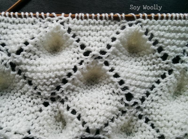 Punto Portugués o Das Maminhas por los dos lados del tejido-Soy Woolly