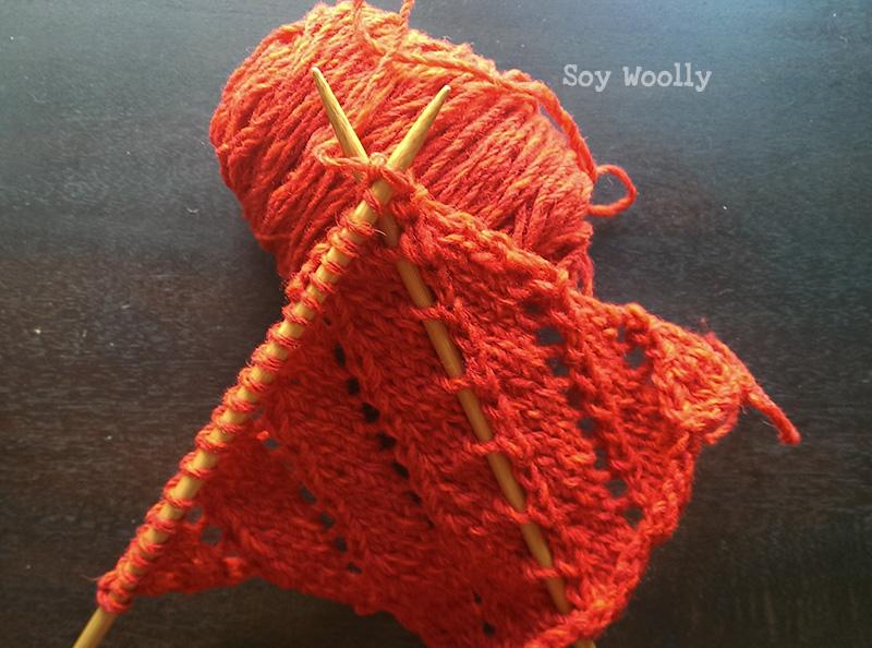 Punto de Encaje Diagonal - Soy Woolly