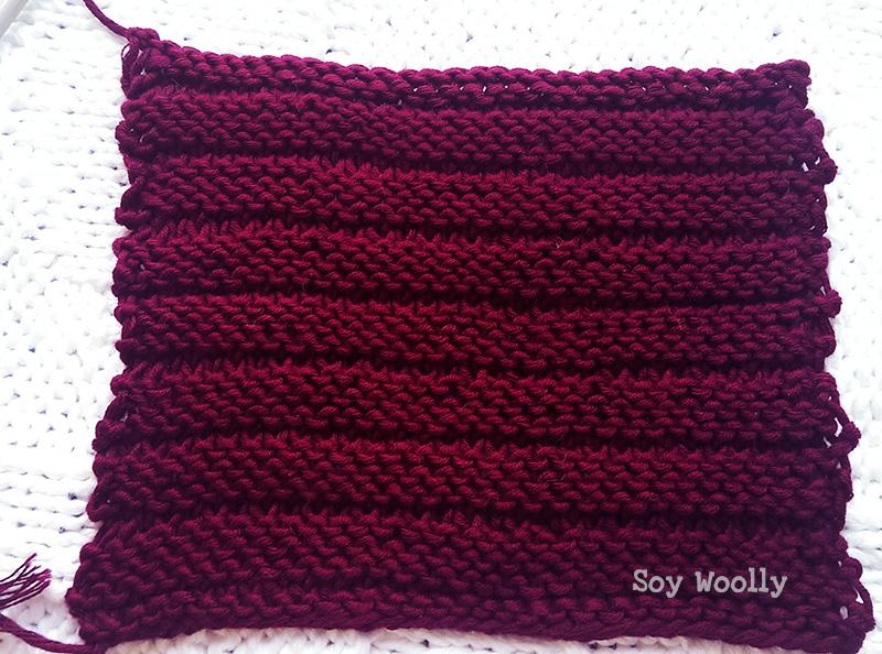 Como tejer cadenas eslabones horizontales sin aguja auxiliar - Soy Woolly