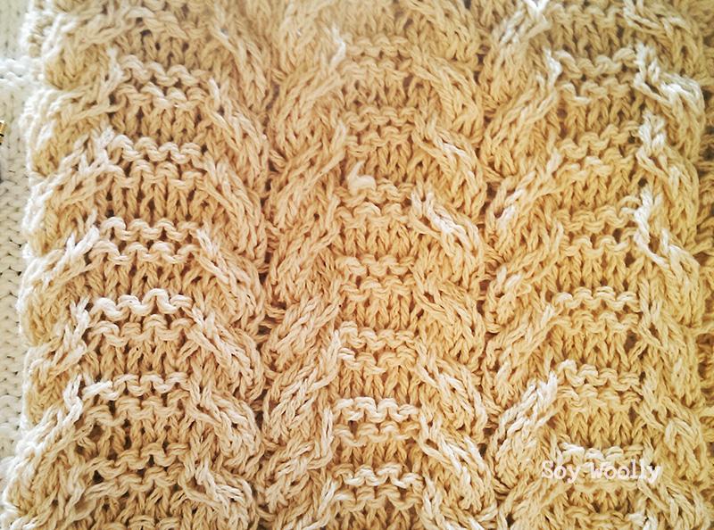 Cómo tejer cuerdas, trenzas, cables, ochos a dos agujas: Punto ...
