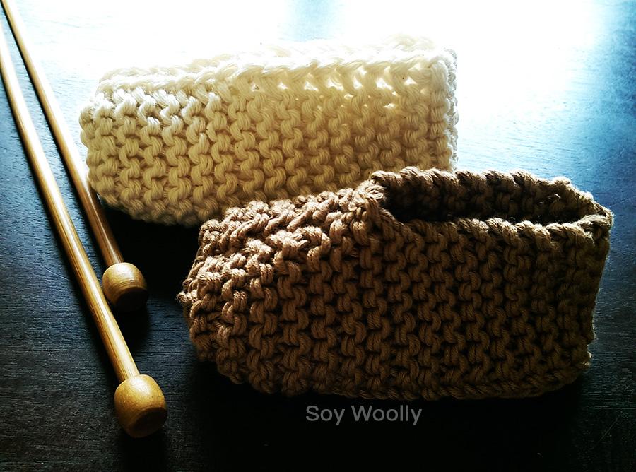 Tejer botitas, patucos, escarpines, zapaticos con dos agujas-Soy Woolly
