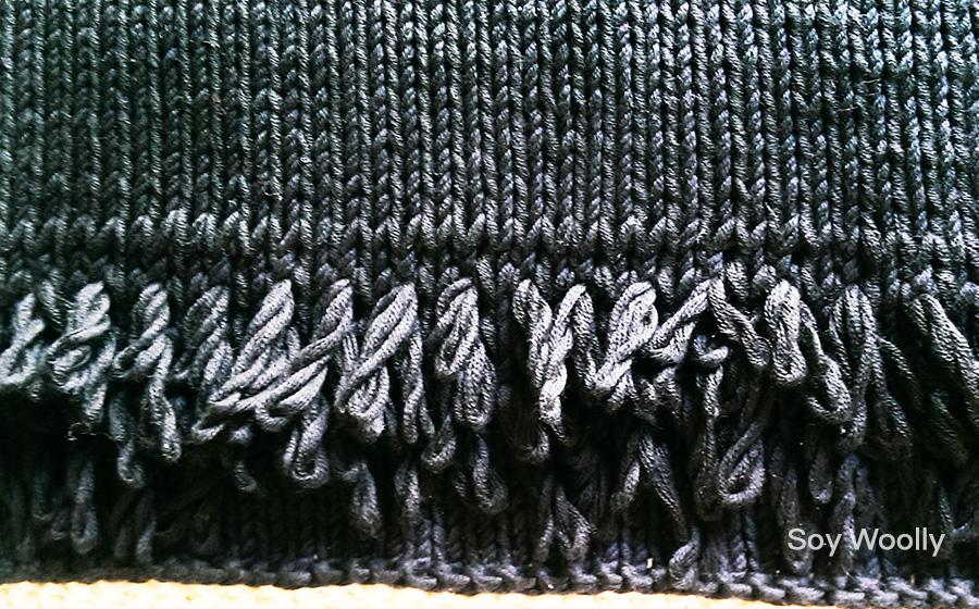 Teje un bolso sobre o clutch dos agujas-punto-tricot-Soy Woolly