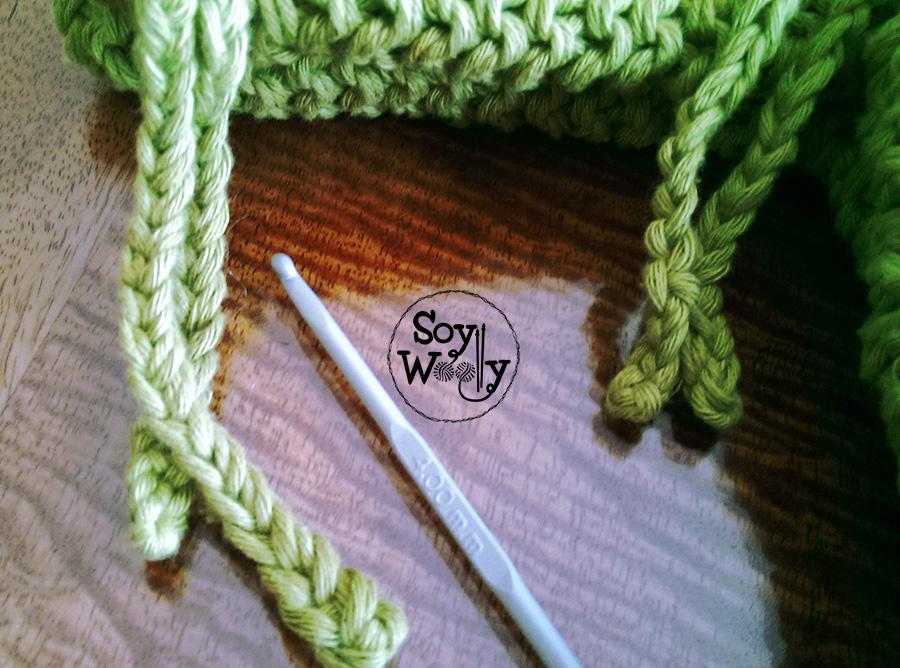 Cerrar sueter bebe tejido palillos-Soy Woolly