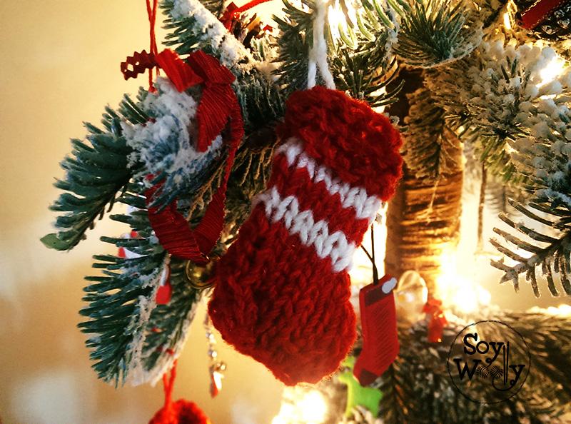 Como tejer botas de navidad faciles-Soy Woolly