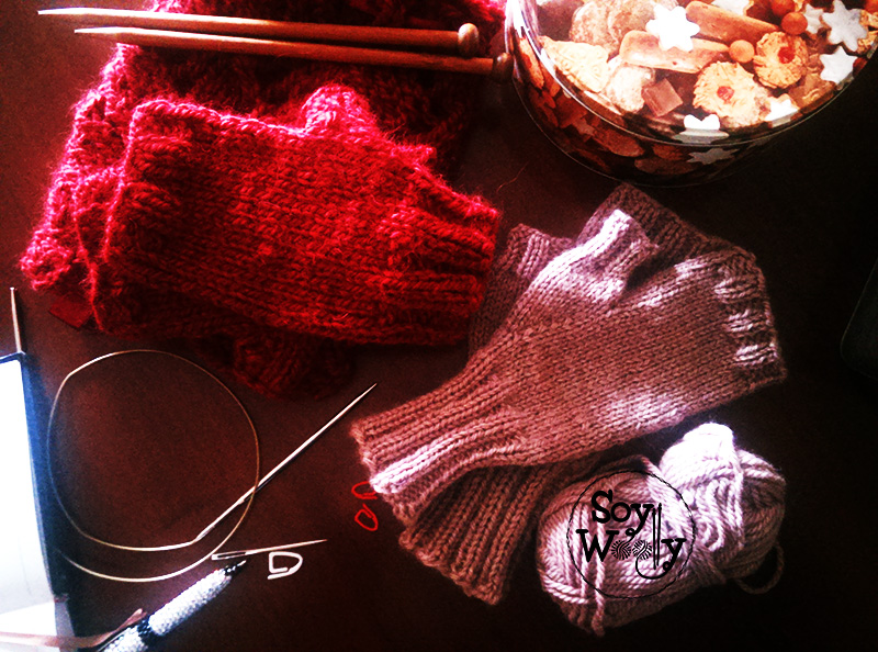 Tutorial guantes tejidos paso a paso-Soy Woolly