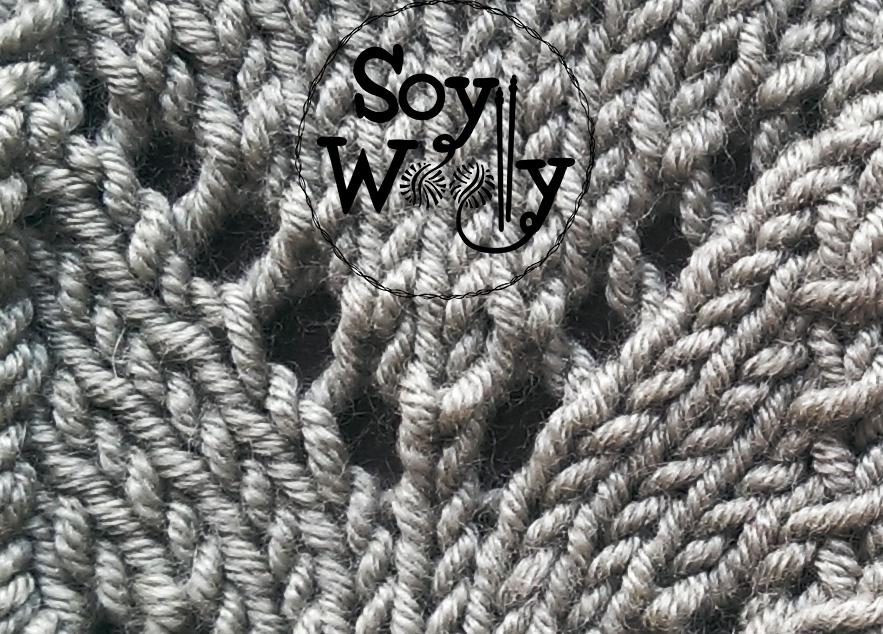 Aumentos pasando la hebra o lazada-Soy Woolly