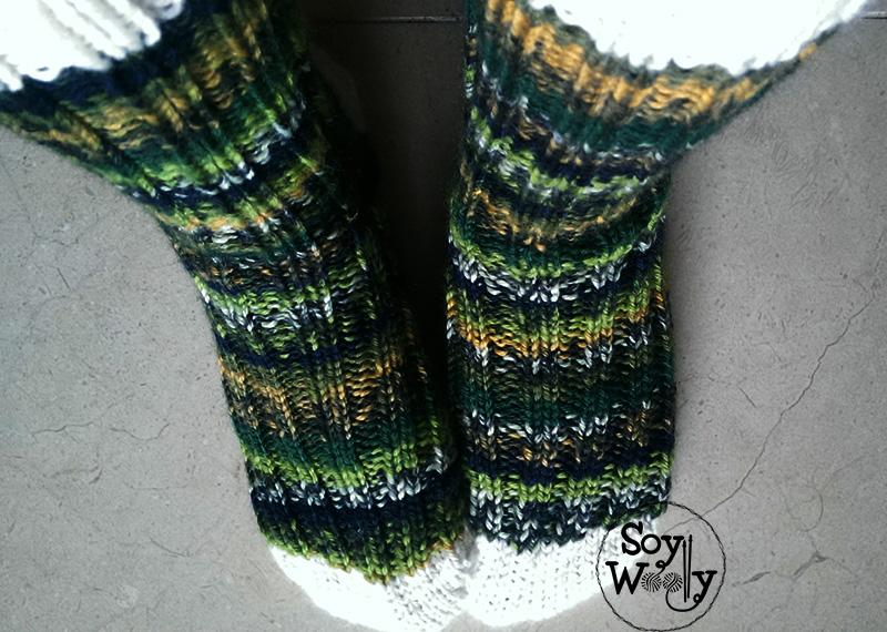 Cómo hacer calcetines o medias de punto paso a paso | Soy Woolly