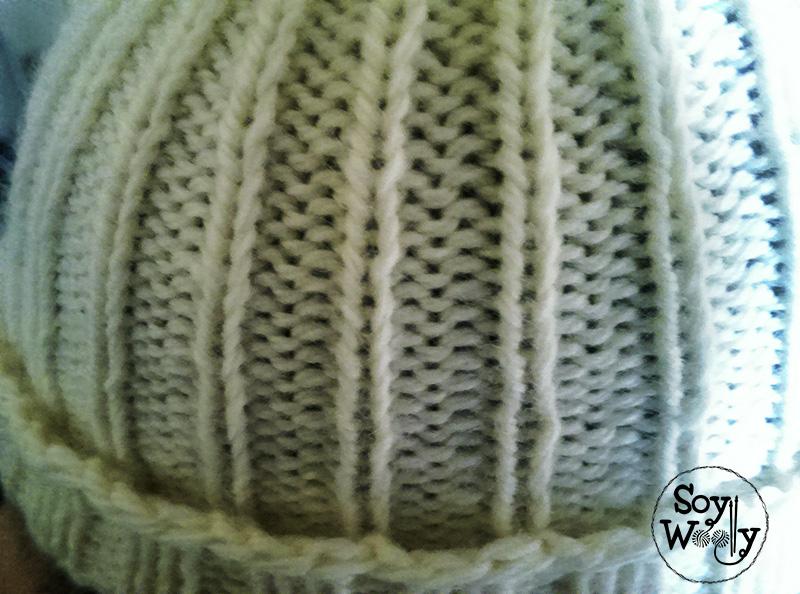 Tricotar gorro facil y unisex-Soy Woolly