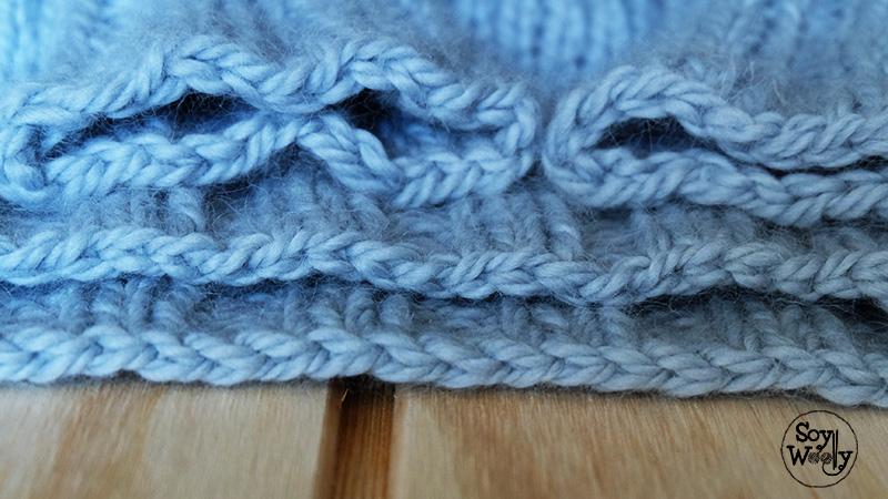 Como cerrar los puntos de forma elastica-Soy Woolly