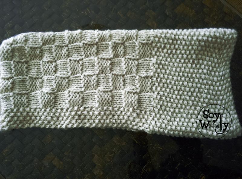 Como hacer capucha y cuello con dos agujas-Soy Woolly