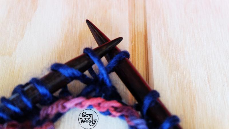 Rematar el tejido flojo dos agujas-Soy Woolly