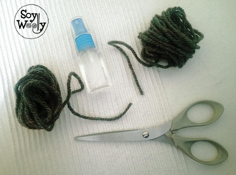Otra forma de unir hilo nuevo-Soy Woolly