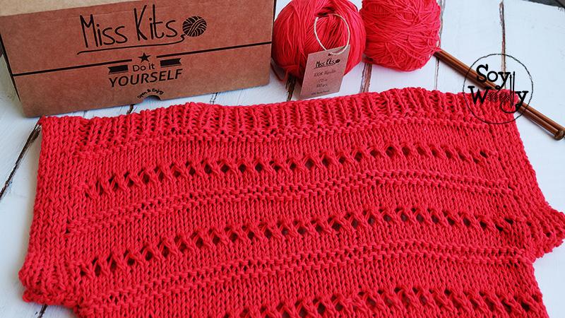 Tejer jersey de algodon para verano facil dos agujas-Soy Woolly