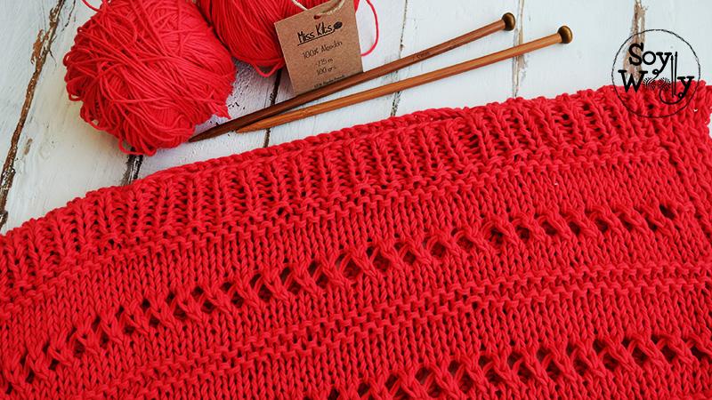 Top algodon tejido primavera verano-Soy Woolly