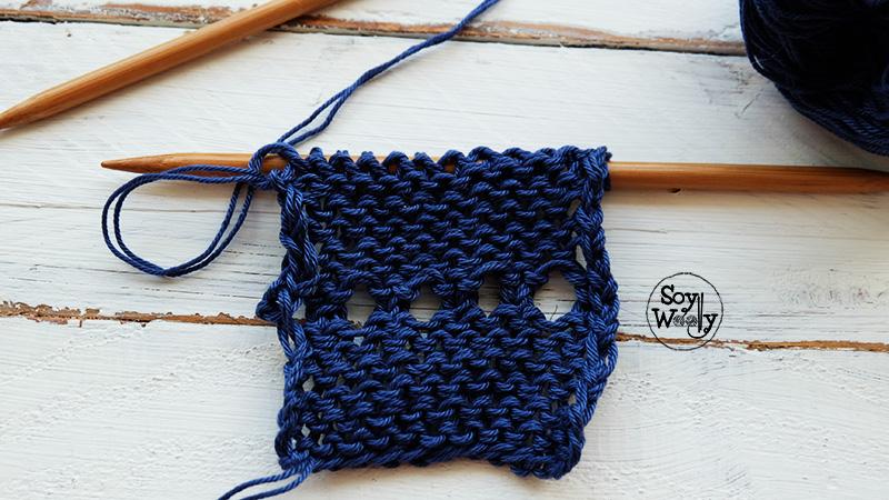 Tecnicas para tejer bordes en dos agujas palillos palitos-Soy Woolly