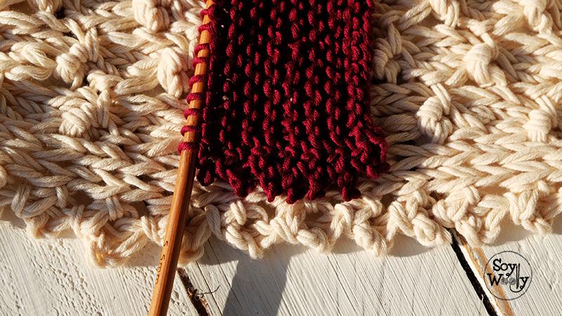 Como terminar los bordes del tejido en dos agujas-Soy Woolly