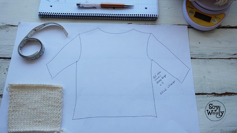 Como saber la cantidad de hilo para tejer-Soy Woolly