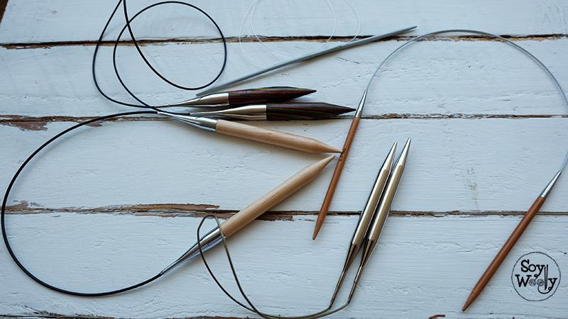 Demasiados puntos en las agujas de tejer-Soy Woolly