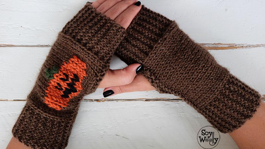 Como hacer bordado sobre punto liso-Soy Woolly