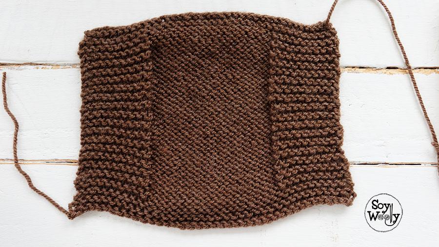 Mitones faciles dos agujas-Soy Woolly