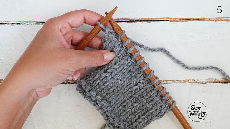 Trucos del tejido a palillos-Soy Woolly