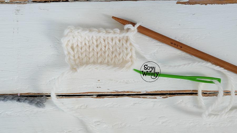 Formas de cerrar los puntos tricot dos agujas-Soy Woolly