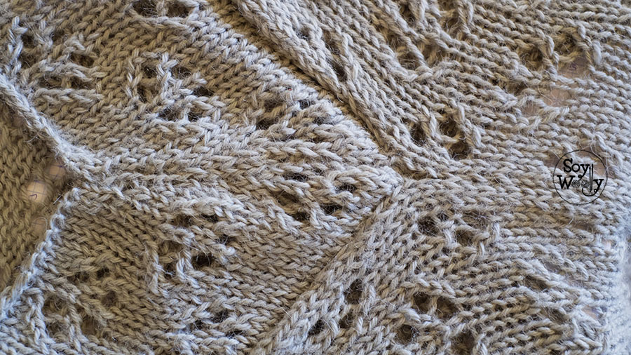 Costura invisible prendas tejidas dos agujas-Soy Woolly