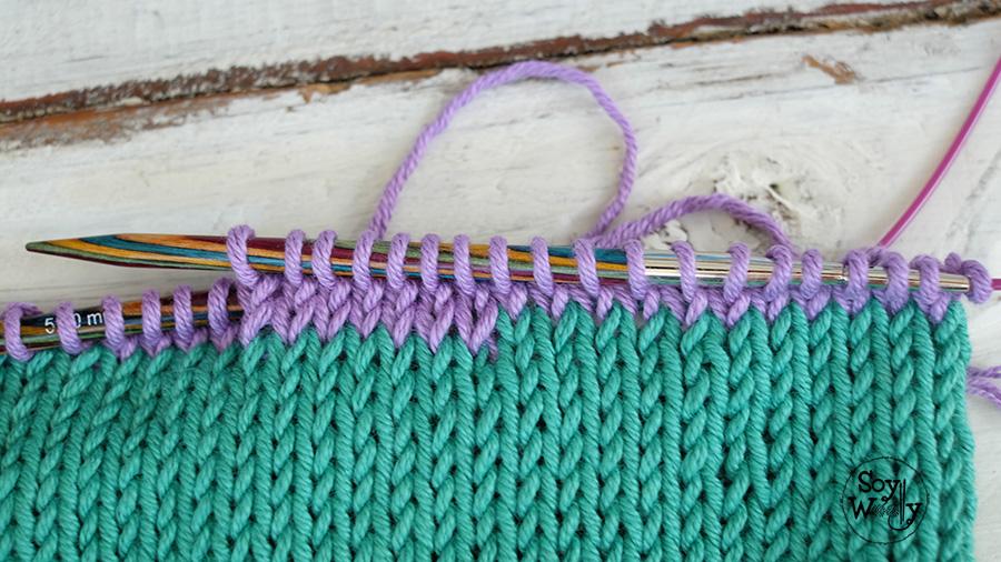 Evita el desnivel cambiando de color-Soy Woolly