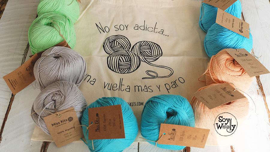 Sorteo Internacional un kilo de algodon Miss Kits-Soy Woolly