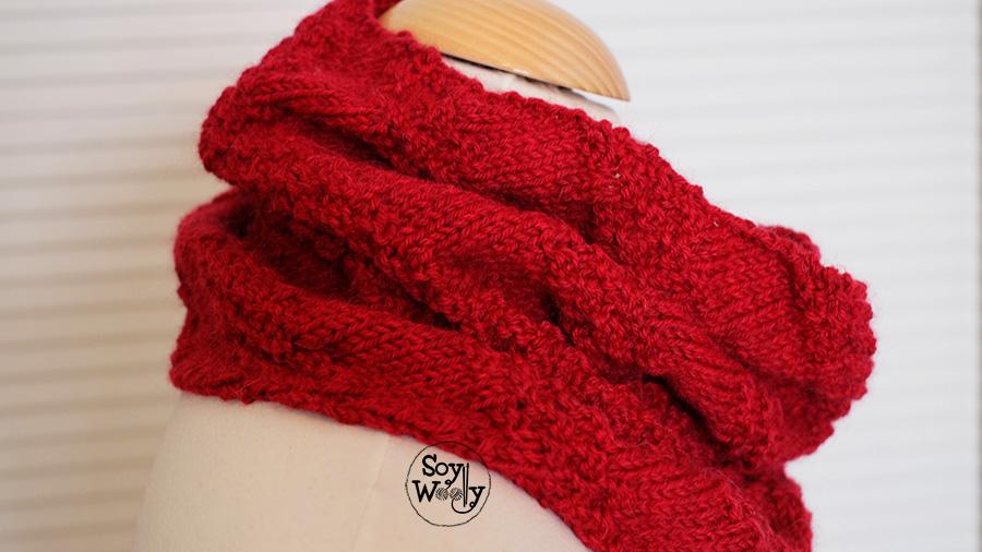 Tutorial remallado o grafting-Soy Woolly