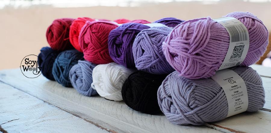 sorteo internacional ovillos de algodon para tejer soy woolly
