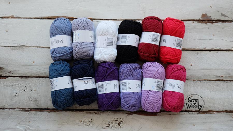 sorteo internacional ovillos de algodon soy woolly
