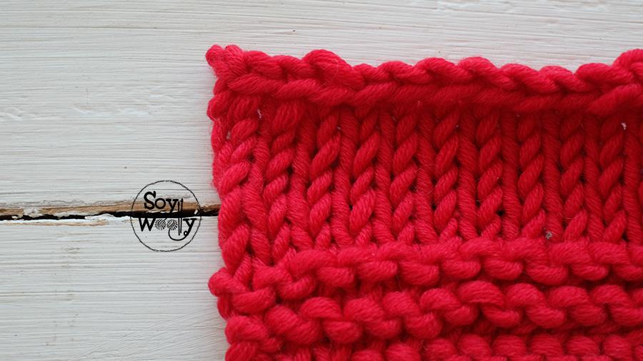 tip para cerrar puntos tejidos dos agujas tricot calceta