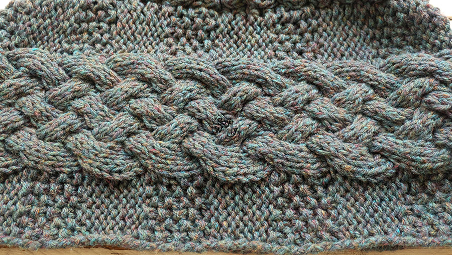 Como tejer un poncho facil paso a paso en dos agujas