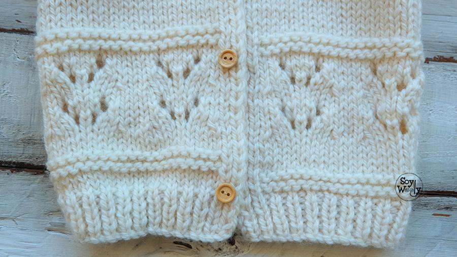 Abrigo a crochet para niСЂС–РІВ±a de 3 aСЂС–РІВ±os