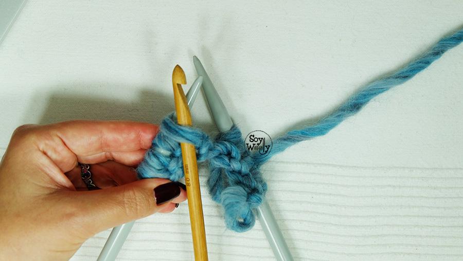 Como usar el ganchillo para reparar errores tejido dos agujas palitos