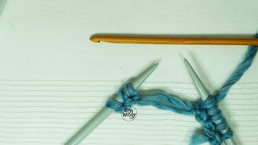 Que hacer cuando se sueltan los puntos de las agujas de tejer