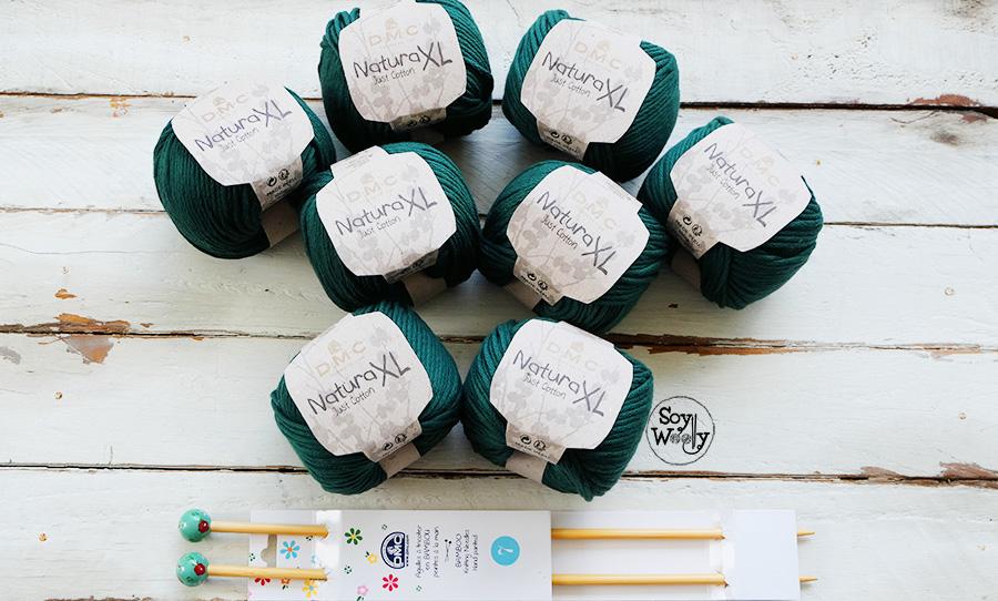 Sorteo Internacional 8 ovillos de algodón Soy Woolly